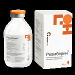 Реамберин раствор для инфузий 1,5% фл. 400мл