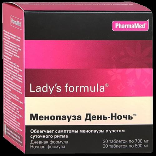 Леди-С формула Менопауза день/ночь таблетки №30+№30