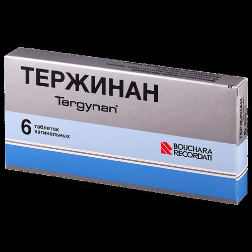 Тержинан таблетки вагинальные №6