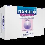 Панцеф таблетки 400мг №10