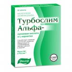 Турбослим альфа-липоевая к-та/L-карнитин таблетки №20