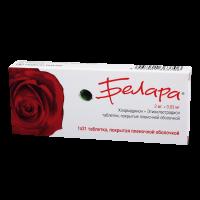 Белара таблетки 2 мг+0,03 мг №21