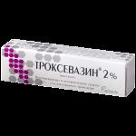 Троксевазин гель 2% туба 40г